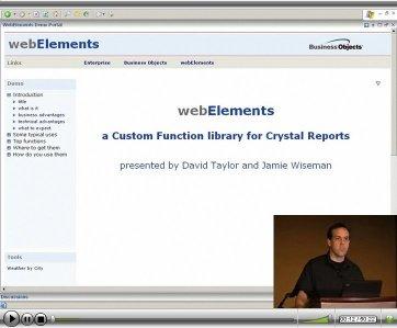WebElements Webinar