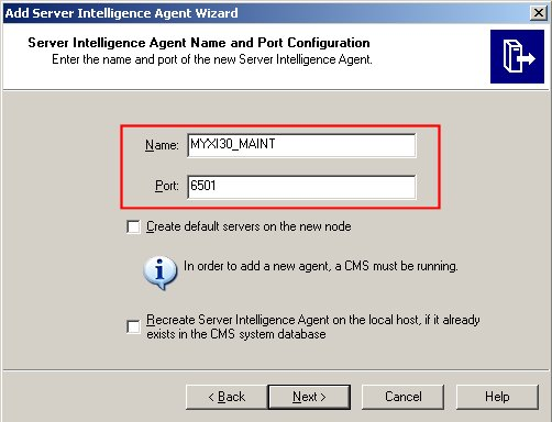 Add Server Intelligence Agent