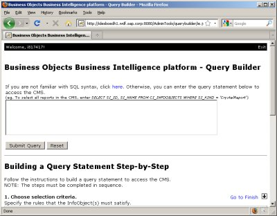 Query Builder Screenshot
