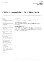 Xcelsius 2008 General Best Practices Guide